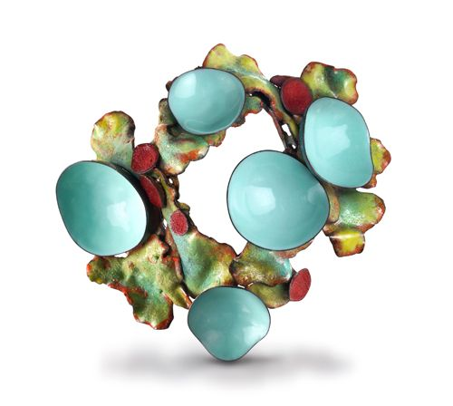 Contemporary Brooch | Wendy McAllister