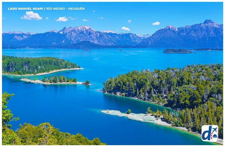 #RíoNegro  - Argentina --> Lago Nahuel Huapi.