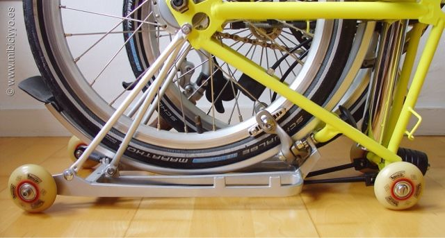 ruedas patines Bompton folding bike eazy wheels