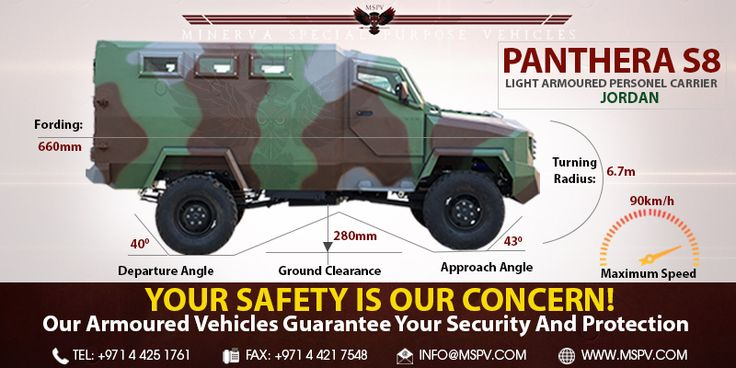 Armoured Personnel Carrier Jordan
