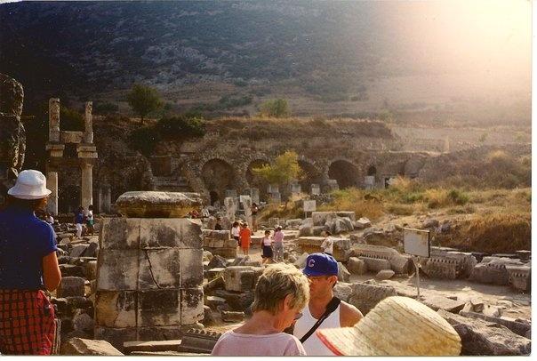 The Aquaducts in Ephesus, Turkey