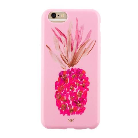 Pinkki Ananas iPhone case by NUNUCO® #iphonecase #nunucodesign