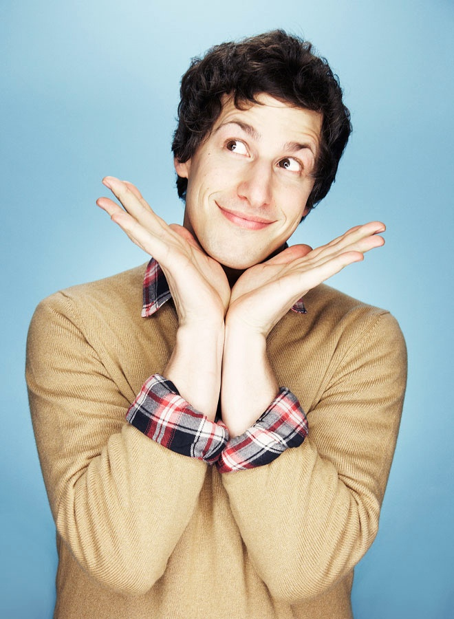 Andy Samberg...He was incredible on SNL, I love the Lonely Island, Hot Rod is one of the funniest movies ever in my opinion, he is so cute, and I cant wait to start watching Brooklyn 9-9
