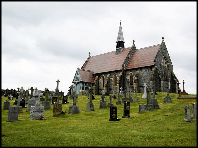 Challoch Church - Newton Stewart - Scotland by Flyingpast, via Flickr