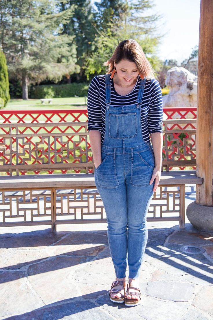 Spring Outfits Must Own Pieces: These overalls are spring requirements for a pear shaped body!