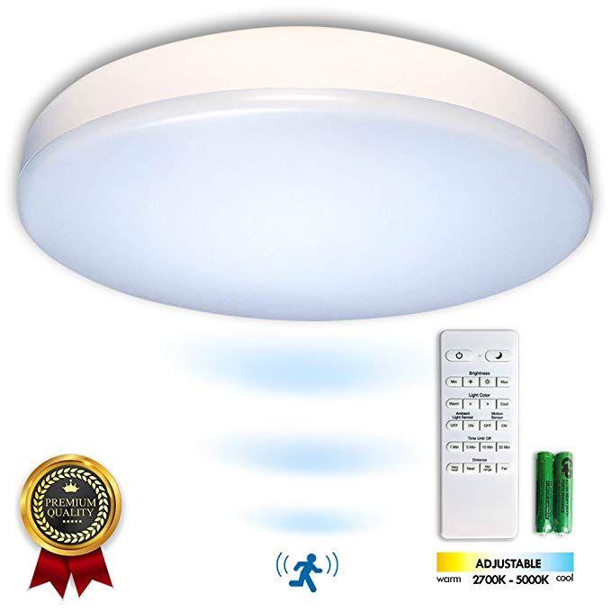Premium 14 Flush Mount Led Ceiling Light Fixture With Motion