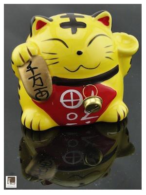 Tire-lire Maneki Neko - Cadeaux d'Asie