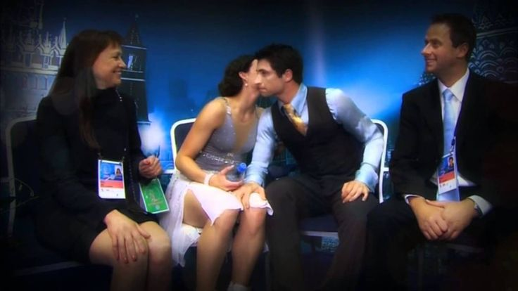 Tessa Virtue and Scott Moir - Kiss Me