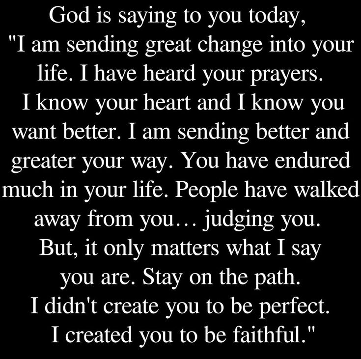 I didn't create you to be perfect. I created you to be faithful ❤️