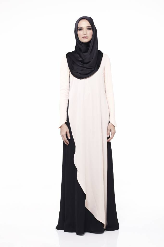 love to dress Amanee in Nude & Black