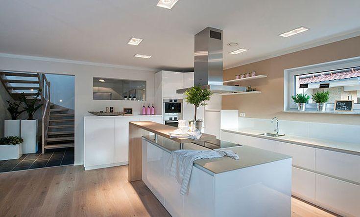 Das Einfamilienhaus Haas MH Fellbach 163 überzeugt von außen mit seinem modernen Baukörper und innen mit dem großen Raumangebot. ➤ Weitere Infos…