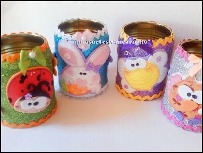 Tarros decorados tarros decorados pinterest for Botes de cocina decorados con goma eva