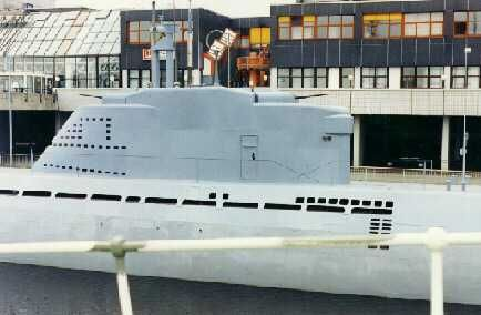 U-2540 at Bremerhaven, Germany - The Galleries - uboat.net