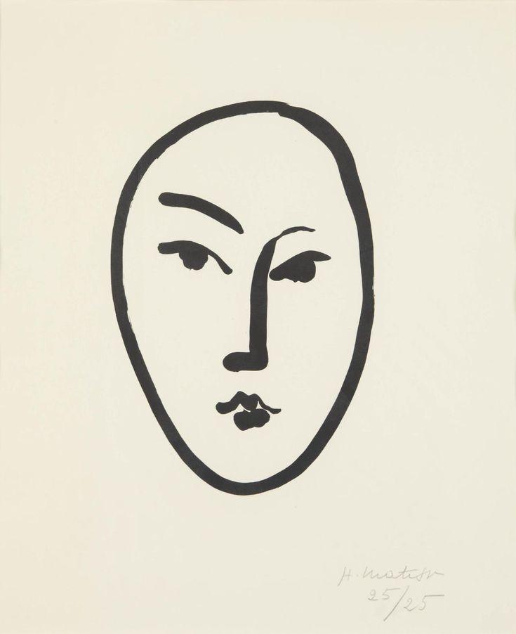 "franklyesoteric: "" Henri Matisse Print | 1951 """
