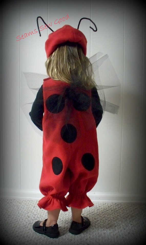 Lady Bug Costume For Toddler by SeamsSewGood on Etsy