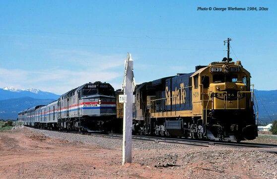 Amtrak Southwest Chief and ATSF SF30C