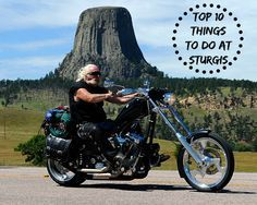 BikerOrNot's Top 10 Things to Do at the Sturgis Motorcycle Rally See what made the list HERE: ===> http://blog.bikerornot.com/top-10-things-to-do-at-the-sturgis-motorcyle-rally/