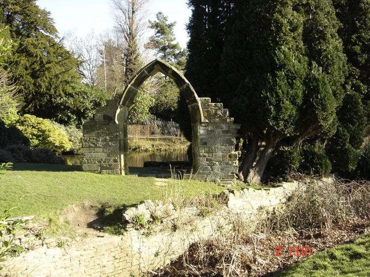 """""""A very old arch in Cawthorne Park, Barnsley."""" by Mary Lipscombe at PicturesofEngland.com"""