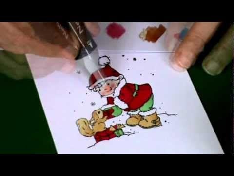 Nellie Snellen Inkleuren met markers.mov