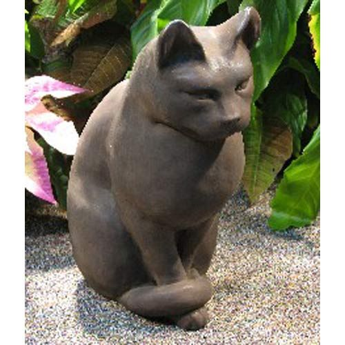 images about garden cats on, bronze cat sculpture garden decor, cat garden decor, cat themed garden decor