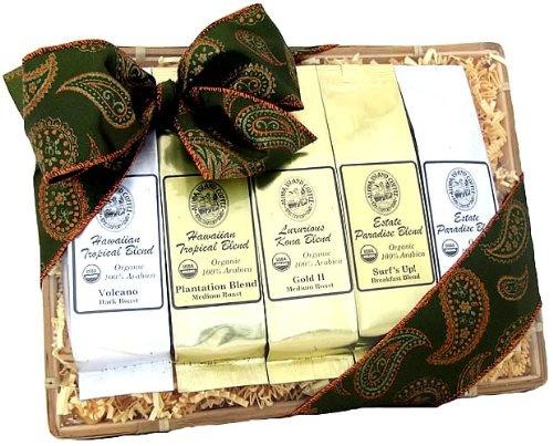 All Occasion, Graduation, Wedding, Kona Hawaiian Coffee Gift Sampler ...