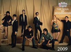 """dewi fashion knights 2009 """"the soul of modernism"""" - sally koeswanto, barli asmara, deden siswanto, denny wirawan, oka diputra, ali charisma, oscar lawalata, lenny agustin"""