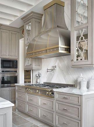 Designed by Kelly Carlisle of Design Galleria Kitchen and Bath Studio in Atlanta, GA and Adair Harrison of Adair Cannada Design in Nashville, TN