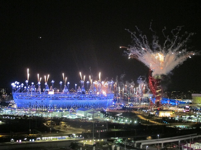 London 2012 Opening Ceremony Olympic Fireworks by msdeegan, via Flickr