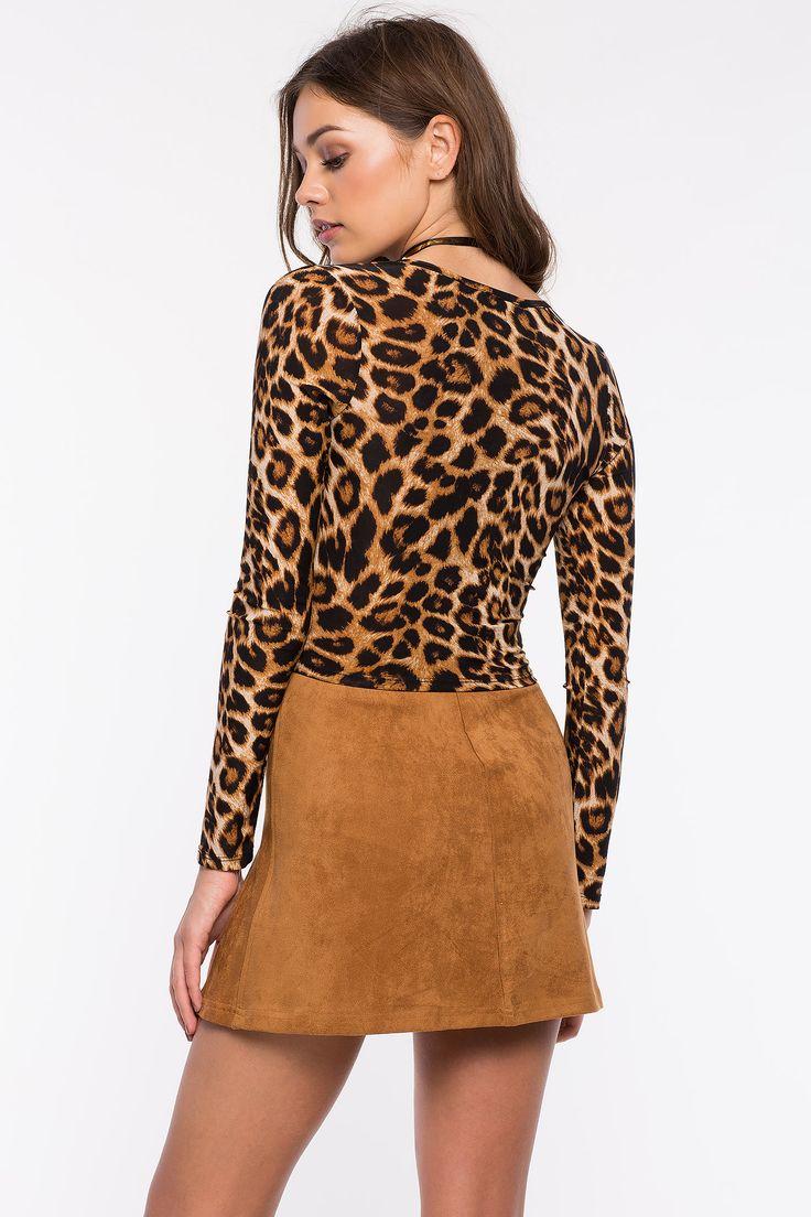 Леопардовый топ Размеры: S, M, L Цвет: коричневый с принтом Цена: 1353 руб.     #одежда #женщинам #топы #коопт