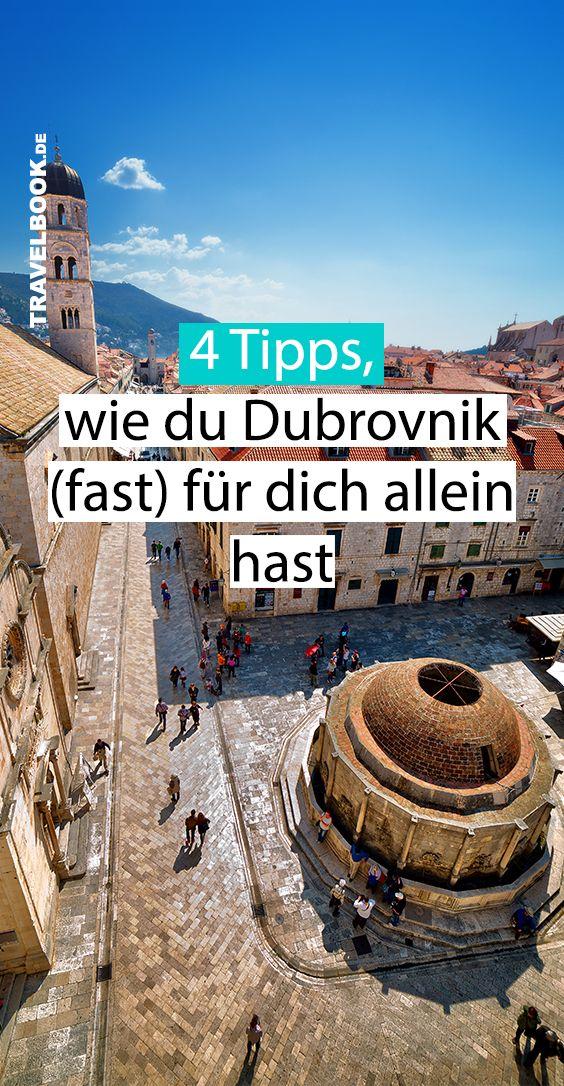 4 Tipps, wie Sie Dubrovnik (fast) ohne Touristenmassen erleben – TRAVELBOOK