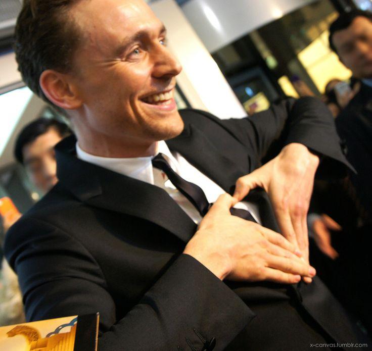Tom Hiddleston. 'Thor: The Dark World' South Korea Premiere