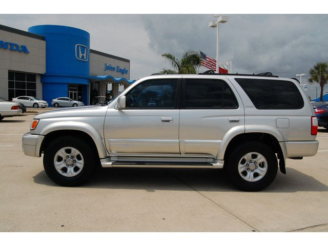 silver toyota suv   toyota 4runner 2002 silver suv limited gasoline 6 cylinders…