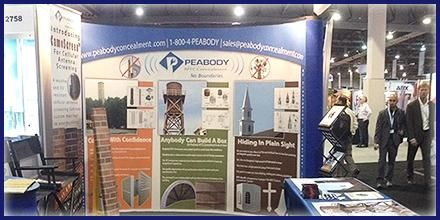 At the #CTIA2014 Expo in  the Tower & Small Cell Summit area - showing what we have to offer on RFTC Transparent Concealments - booth 2759 - Sept 9 - 11, 2014, Las Vegas.  #supermobility