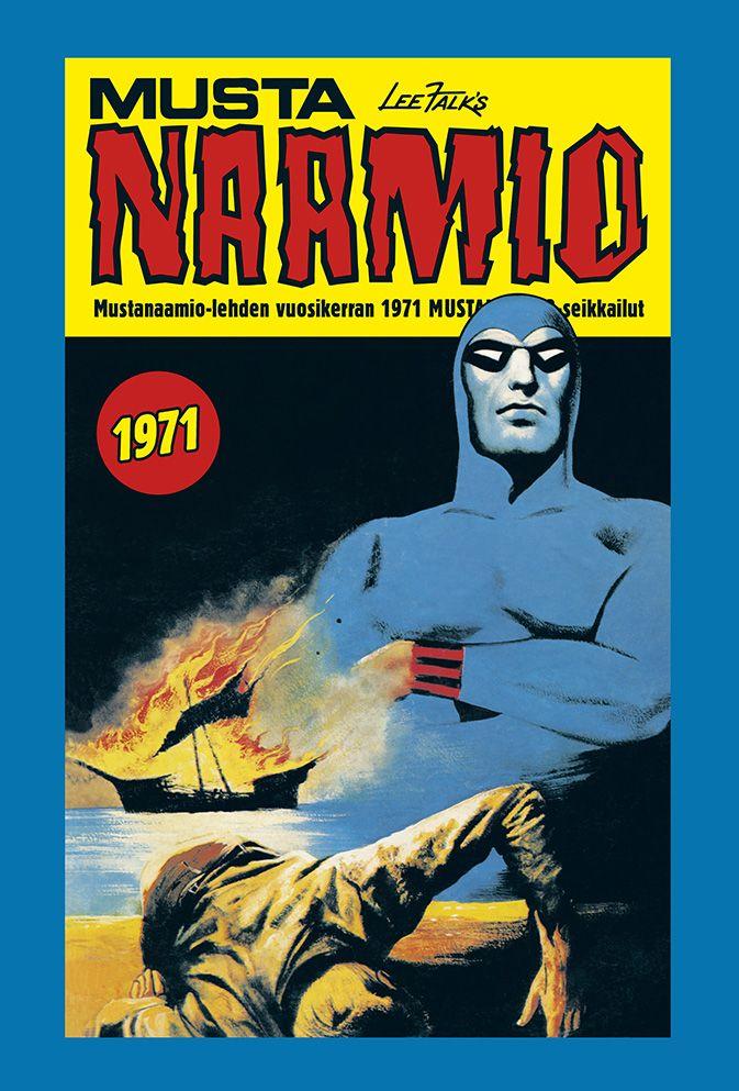 Mustanaamio - Mustanaamio-lehden vuosikerran 1971 Mustanaamio-seikkailut