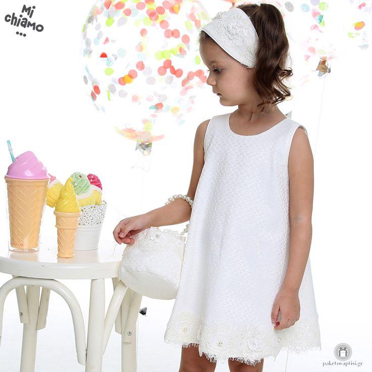 Φόρεμα Βάπτισης Βαμβακερό Α Γραμμή Mi Chiamo Κ4031-16669 https://www.paketovaptisi.gr/christening-packages-girl/christening-clothes-girl/sum-spri/product/2328-16669.html Βαπτιστικό φόρεμα από τη νέα collection της εταιρείας Mi Chiamo κατασκευασμένο από βαμβακερό ύφασμα σε Α γραμμή. Το σύνολο συνοδεύεται από καπέλο ή κορδέλα ή στέκα το οποίο συμπεριλαμβάνεται στην τιμή. Συνδυάζεται προαιρετικά με ασορτί μαντώ και πουγκί. #MiChiamo #φορεμα #βαπτιση #βαπτιστικα