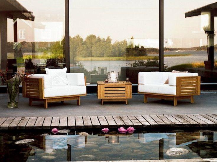 Salon De Jardin En Teck Pour Faire De Son Espace Un Veritable Sanctuaire De Relaxation Et De Raffinement Anglaismeubles Luxury Garden Furniture Luxury Garden