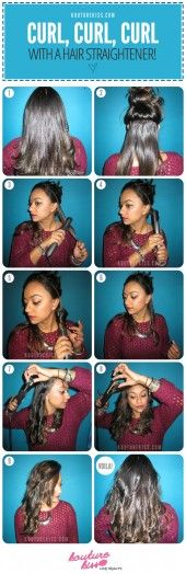 TONS of easy hair tutorials
