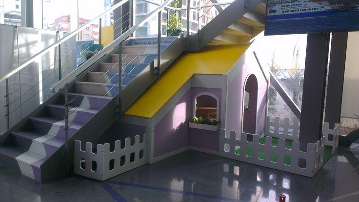 AC Yapı Moment İstanbul Ofisi Çocuk Oyun Evi
