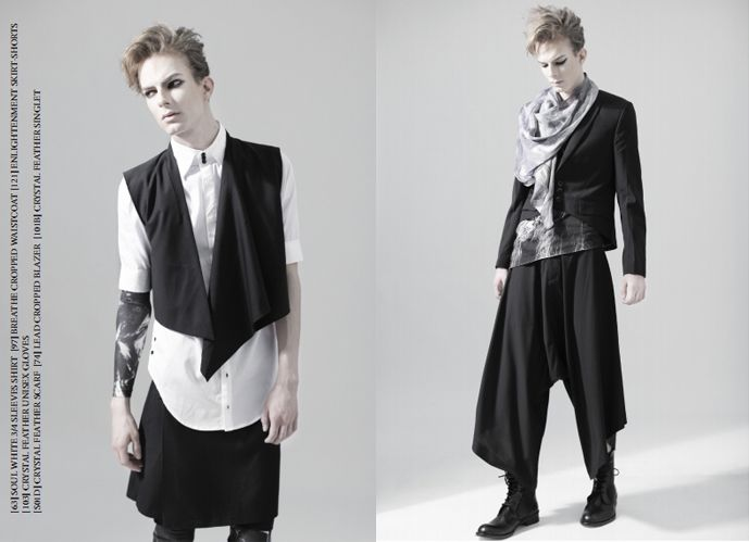 Bauhaus Male Fashion S