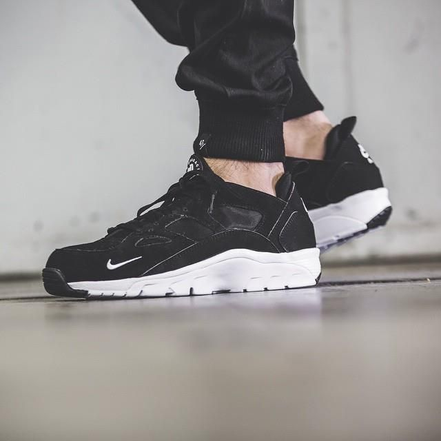 Available via more UK retailers. Nike Air Trainer Huarache Low Black  http://ift.tt/1N7kTCz