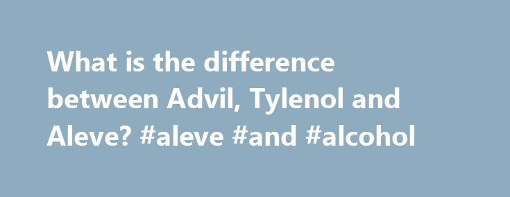 A comparison between acetaminophen and tylenol use to relieve pain