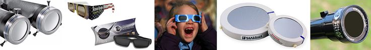Solar Eclipse Glasses Filters: The American Astrological Society and Nat'l Science Foundation have posted a web site with info on reputable equipment and suppliers.