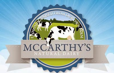McCarthy's wonderful yogurt products. Made in Kilnamartrya, West Cork.