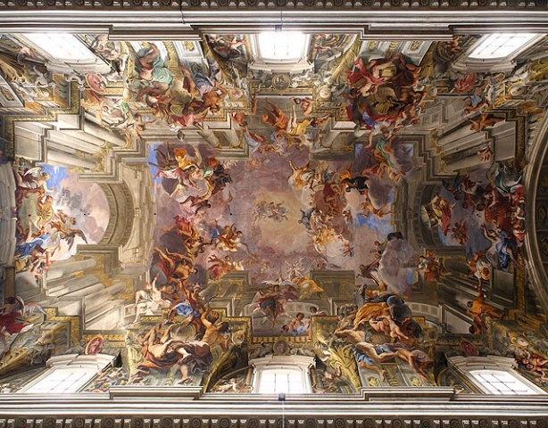 Andrea Pozzo, Chiesa di Sant'Ignazio - Rome
