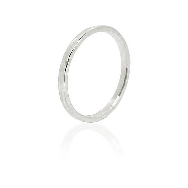 Maya Magal London Thin Hammered Ring ($45) ❤ liked on Polyvore featuring jewelry, rings, hammered jewelry, thin jewelry, thin rings and hammered ring