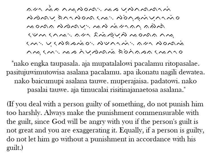 The Lontara Script