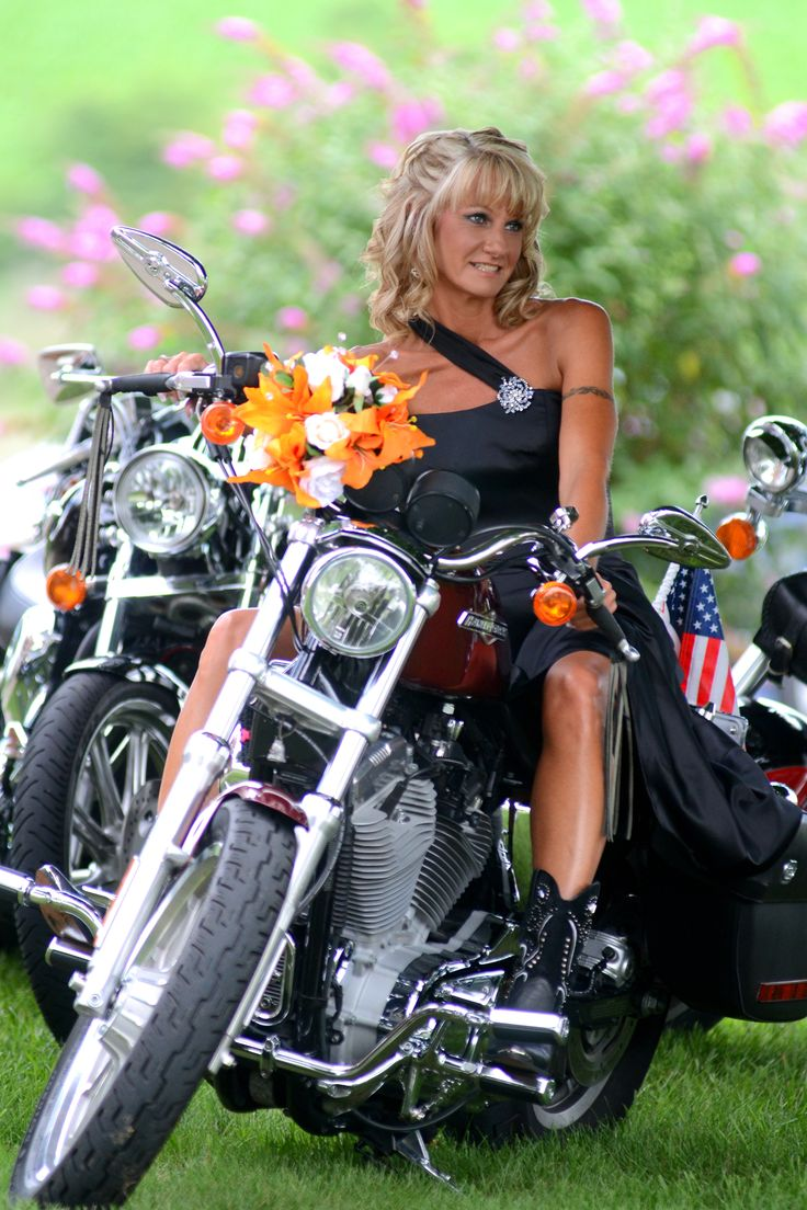 harley davidson wedding i used my motorcycle in our biker wedding loved it my wedding. Black Bedroom Furniture Sets. Home Design Ideas