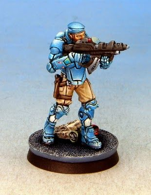 Tom Schadle Miniatures: Infinity - Operation: Icestorm Fusiliers