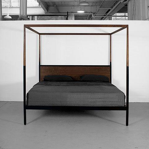canopy bed by uhuru