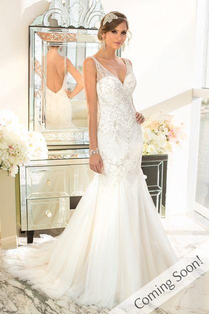 12 best dream wedding dress images on Pinterest   Wedding frocks ...